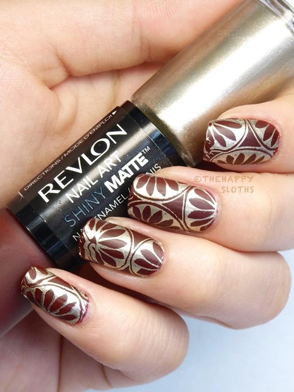 Fall Inspired Matte Nail Art Designs