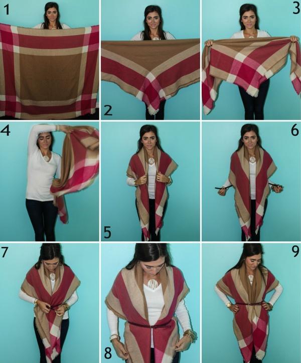 Unique Ways To Tie a Scarf