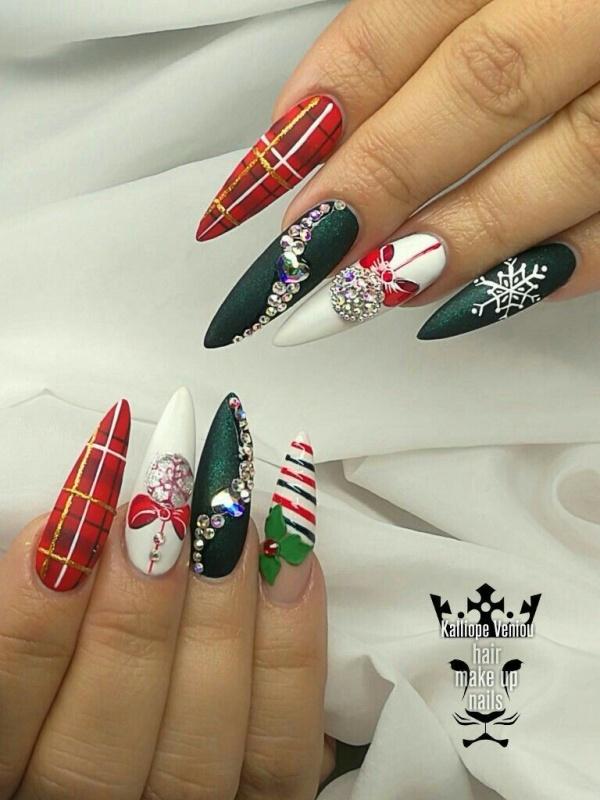 Pretty Nail Art Designs For Winter 2019