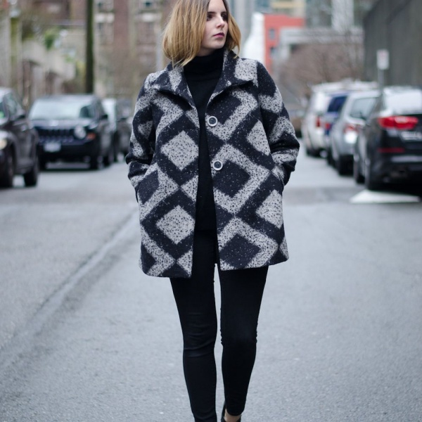 Hot Winter Coat Outfit Ideas For Cold Days