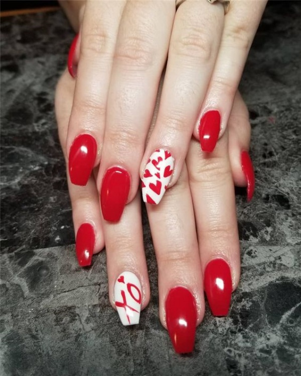 Lovely Valentines Day Nail Art Ideas To Make You Look Romantic