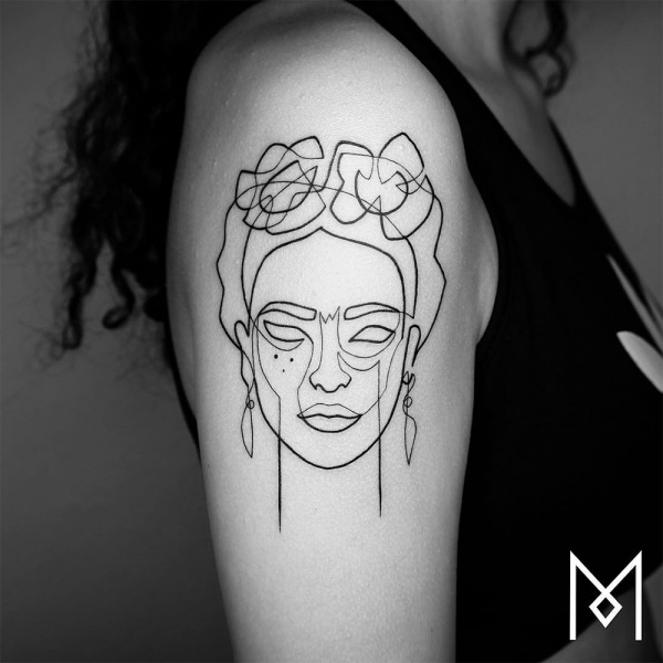 Unique Single Line Tattoo Designs You Should See