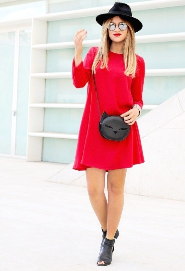 Hot Red Dress Outfit Ideas For Valentines Day